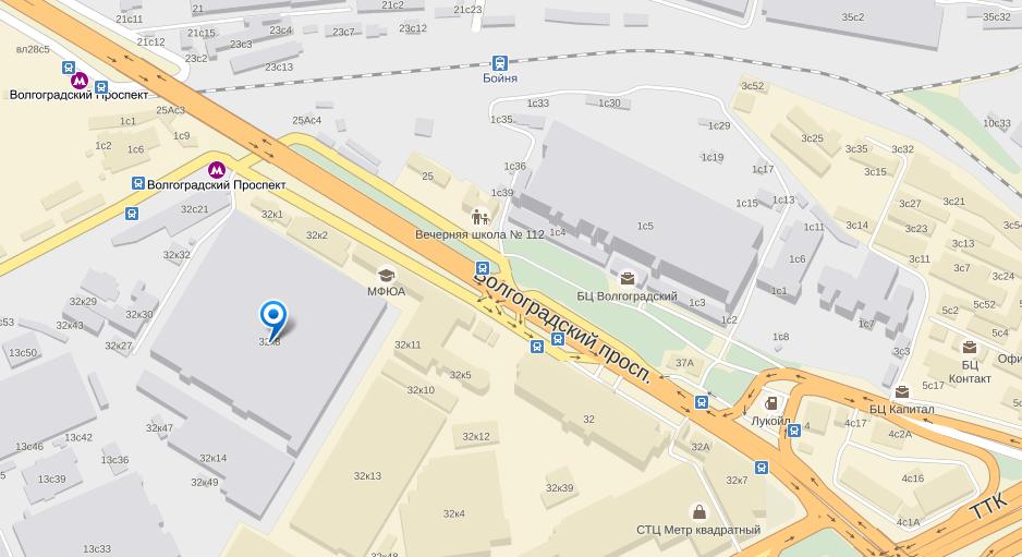 поправить какое метро на волгоградском проспекте для вашего
