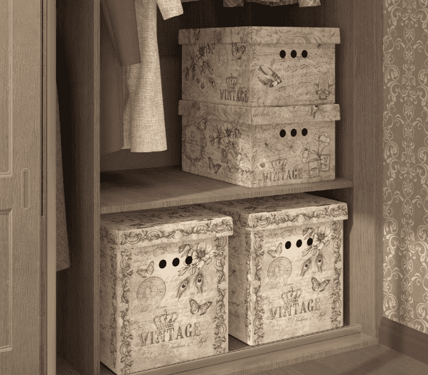 винтажные коробки для хранения