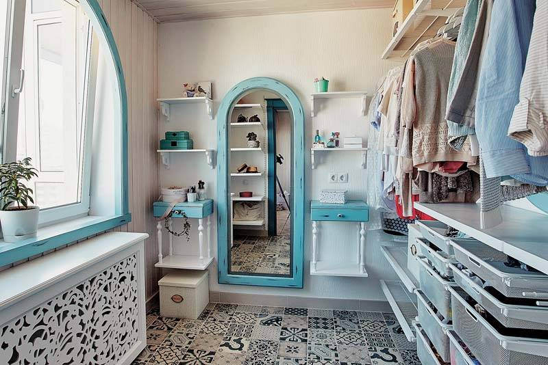 38fcbf659780 7 необычных способов хранения одежды, обуви, аксессуаров - Идеальный ...