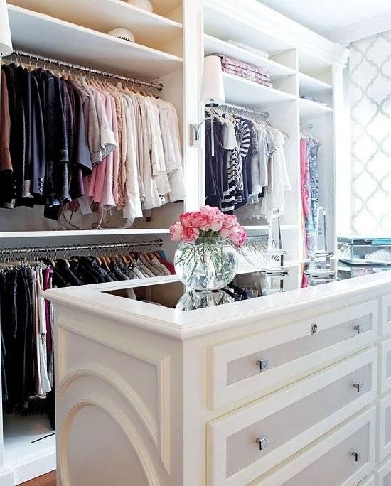 Интересные идеи для гардеробной комнаты
