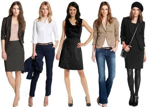 гардероб современной девушки необходимые вещи
